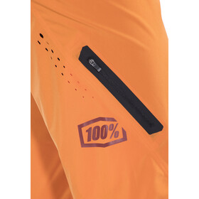 100% Celium Solid - Culotte corto sin tirantes Hombre - naranja